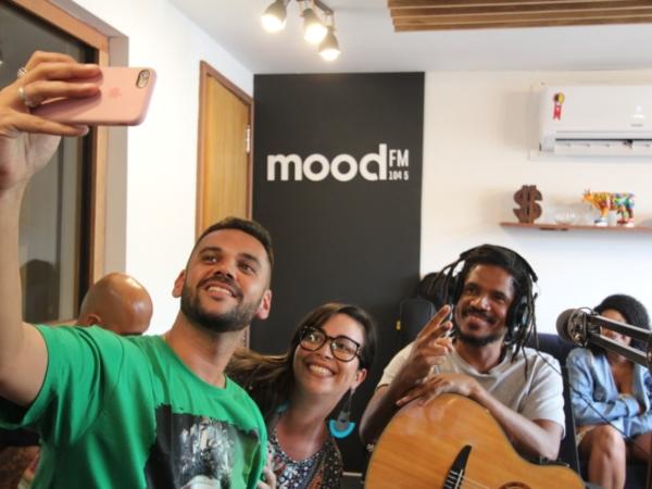 A banda Natiruts foi convidada da Mood 1